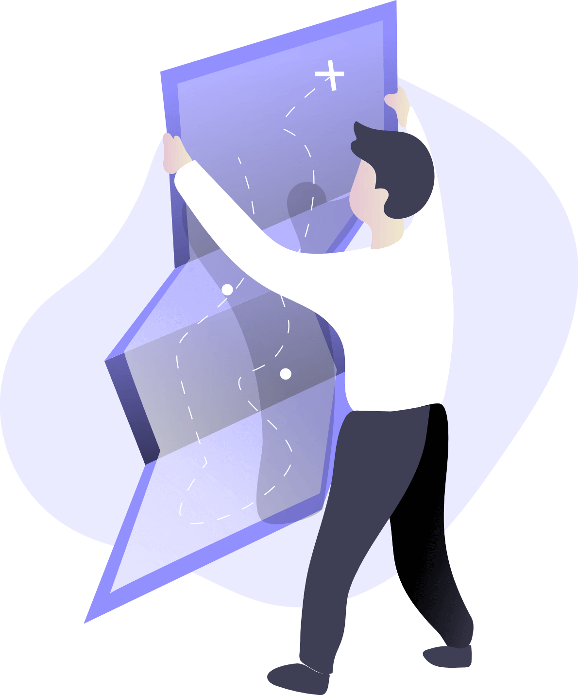 local-business-owner-holding-map