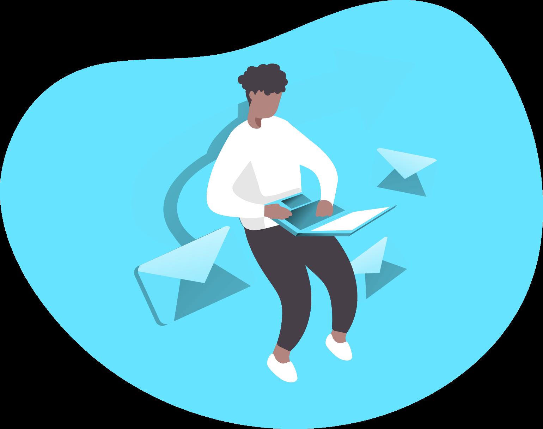 agency-owner-sending-emails